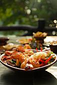 Thai Food, Prawns,  Hotel Rayavadee, Hat Phra Nang, Krabi, Thailand