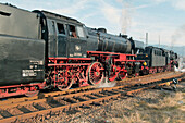 Historical Steam Engines on Railroad festival Hausach, historical Technology, Railroad, Black Forest, Germany