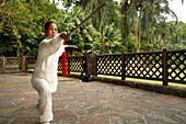 Kendo Training, Botanical Gardens, Orchard Road, Singapore
