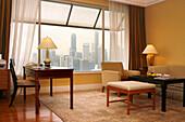 Hotel room, Ritz-Carlton Hotel, Singapore