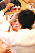 Actress, Chinese Opera at the Kreta Ayer Theatre, Chinatown, Singapore