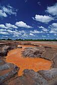 Gold Mine near Pocone, Pantanal, Mato Grosso, Brasil, South America
