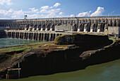 Itaipu Dam, Hydroelectric Power Station, Rio Parana, Brasil, South America