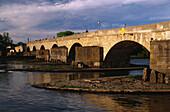 Steinerne Brücke, Donau, Regensburg, Bayern, Deutschland