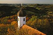 Burgkapelle der Burg Falkenstein, Falkenstein, Bayerischer Wald, Oberpfalz, Bayern, Deutschland