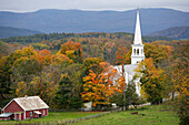 Peachham is one of the most beautiful villages in Vermont, New Engand, United States of America, USA