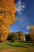 Autumn in West Stockbridge, Massachusetts, ,USA