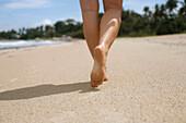 Beach walk, Angsana beach resort, Bintan Island, Indonesia