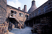 Pottery Mueum, Stoke on Trent, Staffordshire, England, United Kingdom