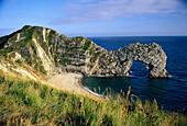 Durdle Door, Jurassic Coast, near West Lulworth, Dorset, England, United Kingdom