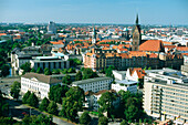 City view of Hannover, Hannover, Lower Saxony, Germany