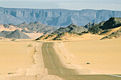 Djanet Road, Bordj el Haoues, algerian Sahara, Algeria, Africa
