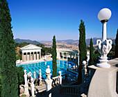 Neptune pool. Hearst Castle. California. USA.