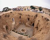 Matmata, Berber troglodyte settlement. Tunisia