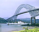 Bridge of the Americas. Panama Canal. Panama