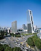 World Trade Center building. Seoul. South Korea