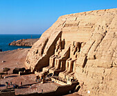 Temple of Ramses II. Abu Simbel. Egypt