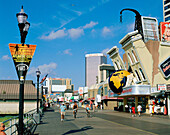 The Boardwalk, Atlantic City. New Jersey, USA