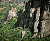 Agios Nikolaos monastery, Meteora. Thessaly, Greece