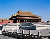 Hall of Supreme harmony. Forbidden city. Beijing. China