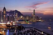 Hong Kong City. Oct 2005. China