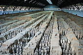 Bingmayong. The Terracota Warriors (W.H.). Xian City. Shaanxi Province. The Silk Road. China. Nov.2006
