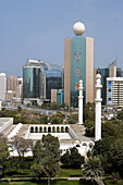 United Arab Emirates. Abu Dhabi City. Downtown