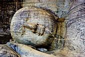 The Ancient Cities. Polonnaruwa City W.H.). Gal Vihara. Sri Lanka. April 2007.