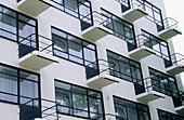 Bauhaus building by Walter Gropius. Dessau, Germany
