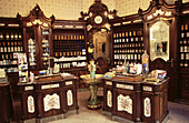 Old chemist with neo-Baroque furniture (c. 1897). Pécs. Hungary