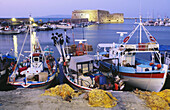 Harbour. Heraklion. Crete. Greece