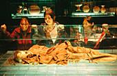 Cañari mummy. Museo del Barco Central. Quito. Ecuador