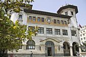 Edificio de Correos en plaza de Alfonso XIII. Santander. Cantabria. Spain.