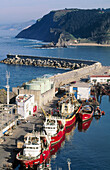 Harbour. Ondarroa. Vizcaya. Euskadi. Spain.