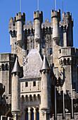 Butron castle. Vizcaya. Euskadi. Spain.