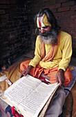 Sadhu (Holy man). Kathmandu. Nepal.