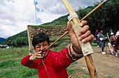 Archery. Bhutan