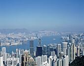 Victoria harbour. Hong Kong. China