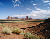 Inspiration Point. Monument Valley. Utah. USA.