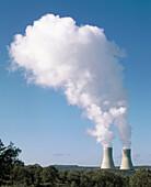 Nuclear power plant. Cifuentes. Guadalajara province, Castilla-La Mancha, Spain