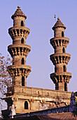 Sidi Bajhir Mosque in Ahmedabad. Gujarat. India