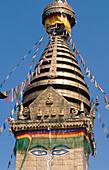Swayambhunath temple. Kathmandu. Nepal