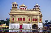 Pandal. Golden temple. Amritsar. Punjab. India.