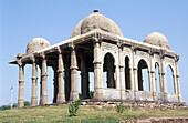 Maqbara (graveyard) near Kevda Masjid. Champaner Pavagadh Archaeological Park. World Heritage Site. Panch Mahal. Gujarat. India