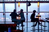 Aqua Lounge bar at Kowloon. Hong Kong, China.