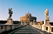 Sant Angelo Castle and bridge. Rome. Italy