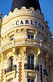 Carlton Hotel. Cannes. Cote d Azur. France
