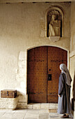 Nun at convent. Normandie. France