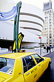 Guggenheim museum architect Frank Llyod Wright. New York (NY) Manhattan. United states (USA)