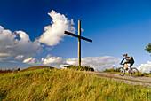 Way of the Cross, Halde Haniel, Bottrop, Ruhr Valley, Ruhr, North Rhine Westphalia, Germany